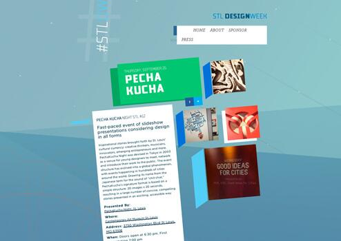 网站板式设计