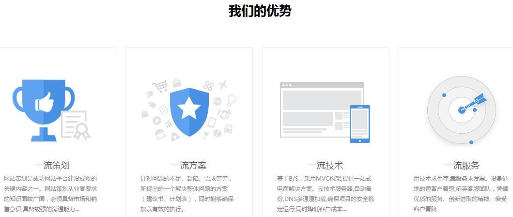 重庆网站建设公司优势