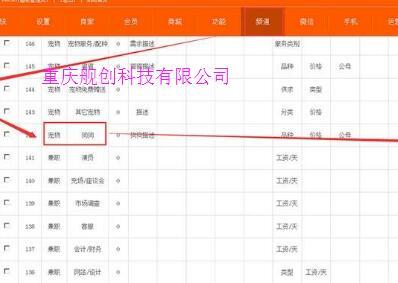 重庆分类网站建设应该如何做