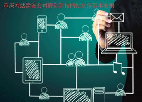 重庆网站建设公司制定的一些网站制作基本准则分享